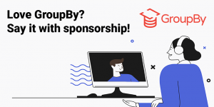 Read more about the article GroupBy is now accepting sponsors!