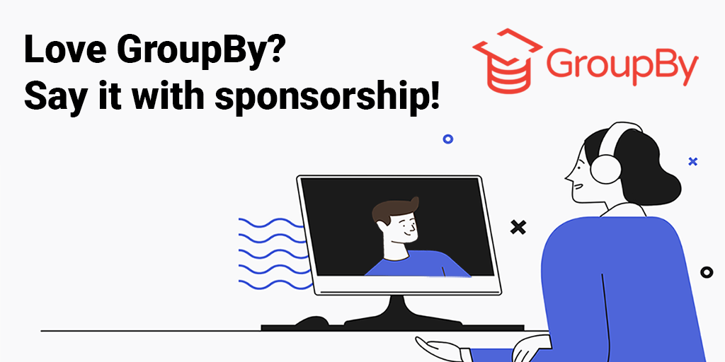 You are currently viewing GroupBy is now accepting sponsors!